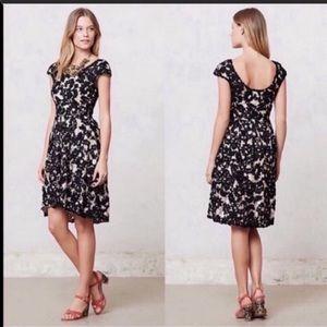 Anthropologie ✨NWOT✨ Black Lace Romance Dress